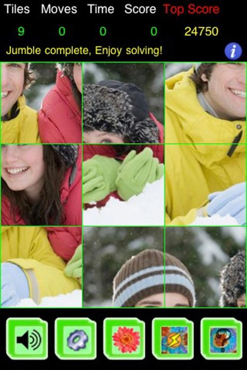 PicZee Free - The cool and fun photo jigsaw puzzle screenshot-3