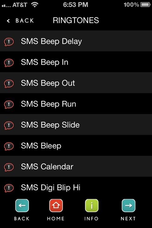 Text Tones & Alerts screenshot-1