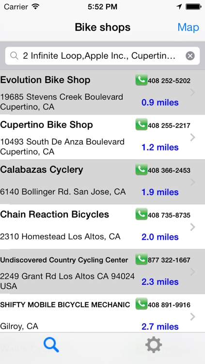 Bike Shops North America screenshot-0