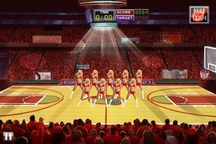 Basketball Toss HD screenshot-4