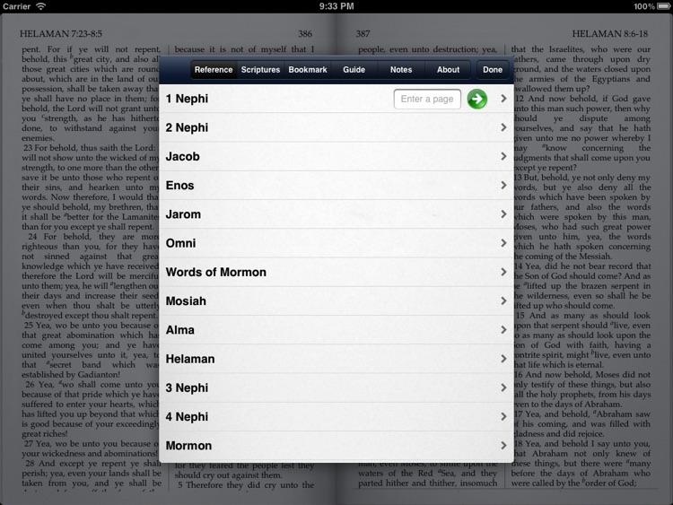 Genuine LDS Scriptures - The Book of Mormon - Free screenshot-3