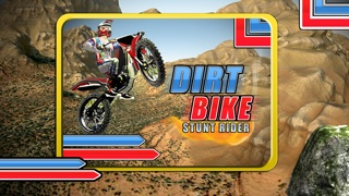 A Dirt Bike Stunt Rider - Motocross Skills Race Free Game Screenshot on iOS