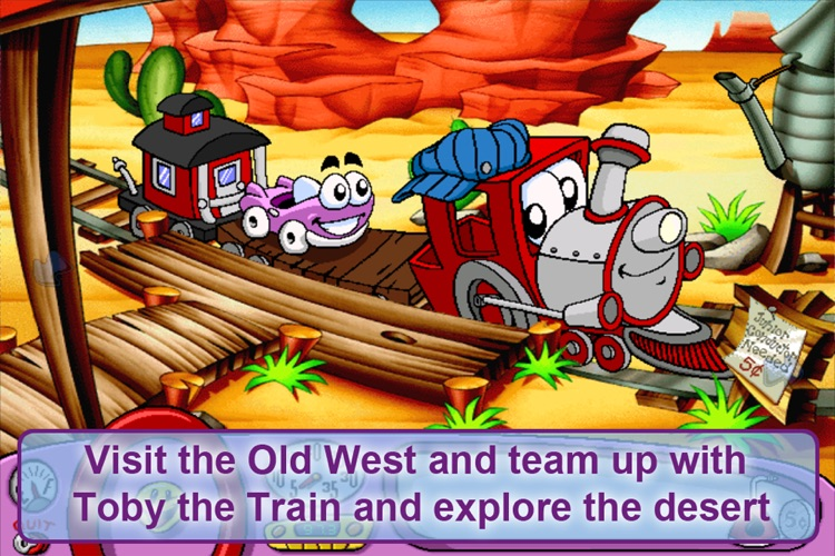 Putt-Putt Travels Through Time Lite screenshot-3