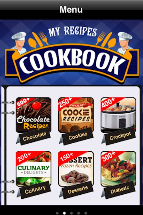 My Recipes Cookbook screenshot-1