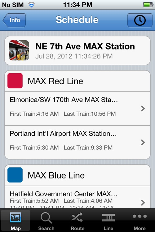 TransitGuru Portland TriMet MAX screenshot-4