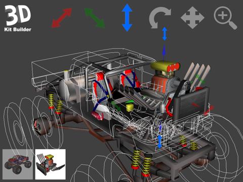 3D Kit Builder (Monster Truck)のおすすめ画像2