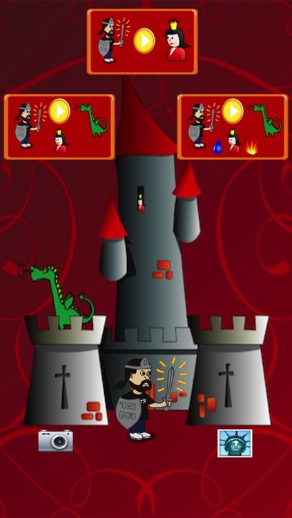 Dragon and Knight Maze (save the princess) screenshot-4