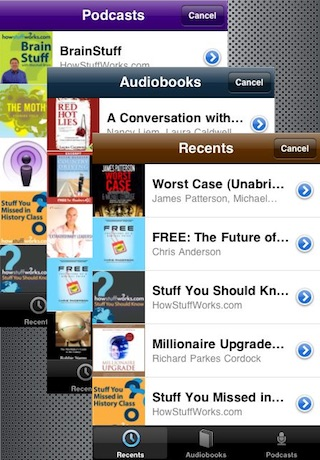 Audiobook & Podcast Player