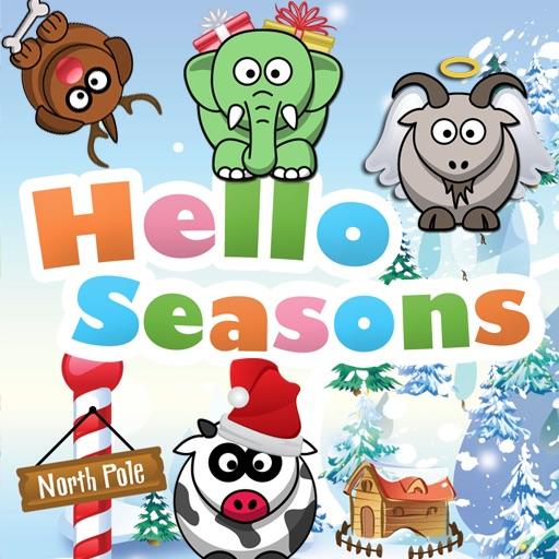 Hello Seasons - Christmas Edition - For Kids iOS App