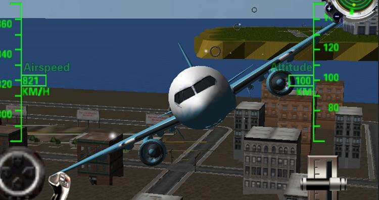 Airplane Flight Mania 3D screenshot-3