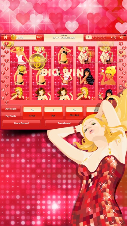 Lovers Strip Tease - Fun Adult Slot Game