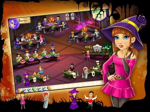 Кафе Амели. Хэллоуин HD для iPad