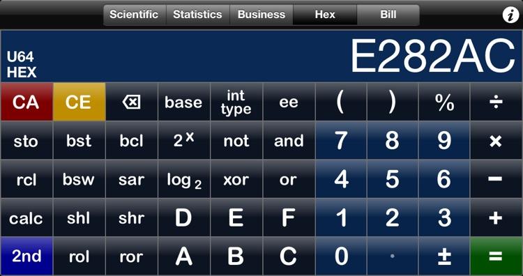Perpenso Calc 4 screenshot-4