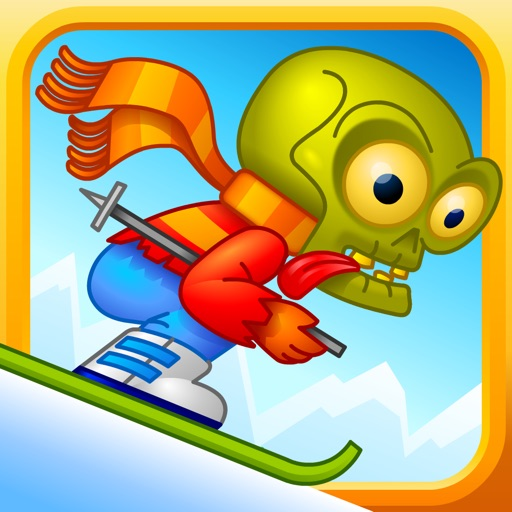 Zombie Downhill Avalanche - Tricky Snowboard Stunt Race icon
