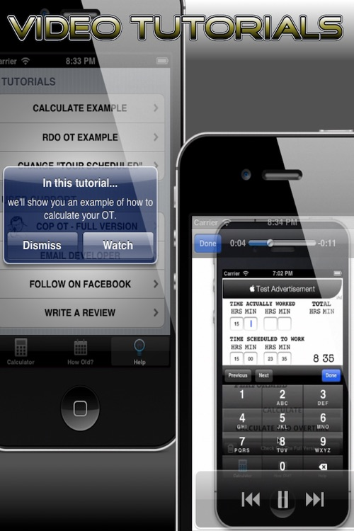 Cop's Overtime Calculator - Free screenshot-4