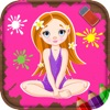 Coloring Pages for Girls - Fun Games for Kids - iPhoneアプリ
