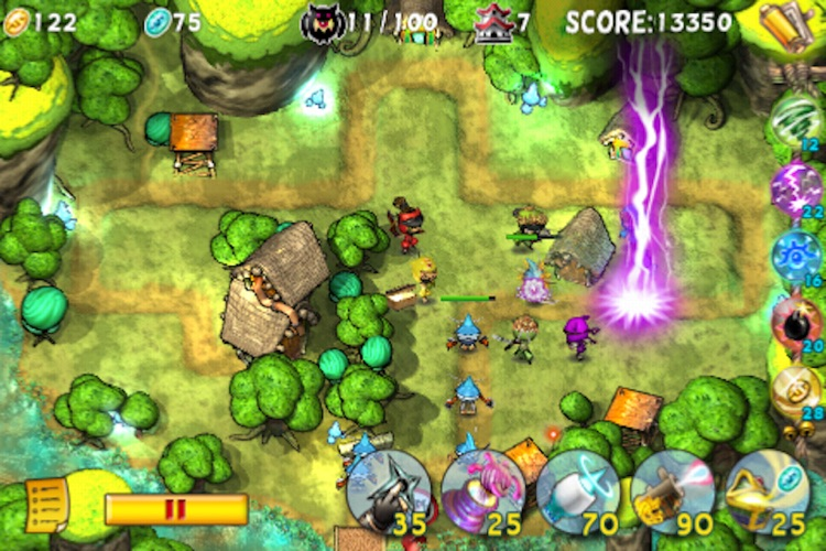 Ninja TD Lite screenshot-3
