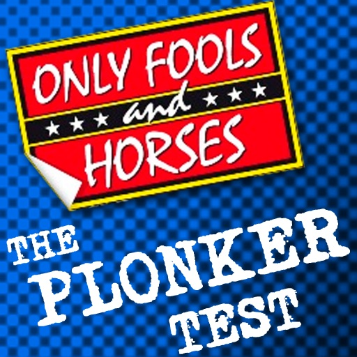 Only Fools and Horses Plonker Test for iPad