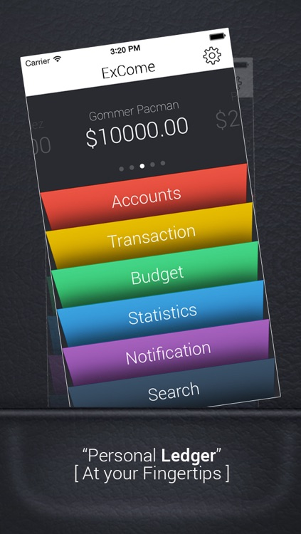 ExCome - Income, Expense, Budget Tracker