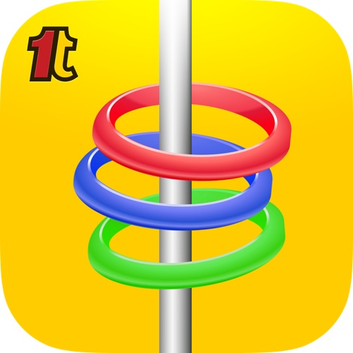 1TapBubbles - Water Ring Toss Classic Game by 1Tapps