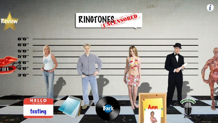 Ringtones Uncensored: Ringtone Robot