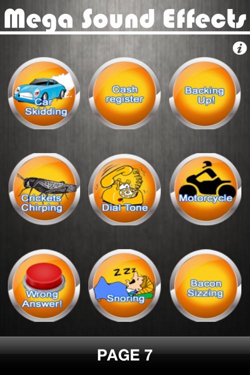 Mega Sound Effects Pro screenshot-3