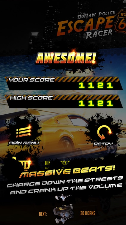 Police Escape Outlaw Racer Free screenshot-3