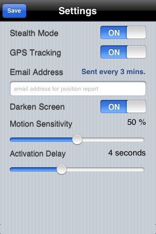 Motion Alarm screenshot-1