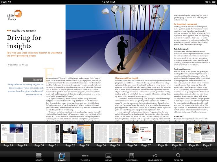 Quirk's Magazine screenshot-4