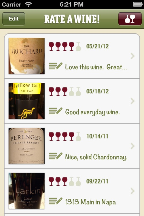 Rate A Wine!