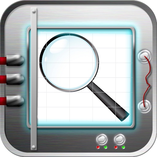 iMagnifier Magnifying Glass & Mirror HD icon