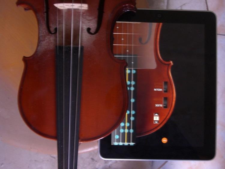 Real Violin for iPad screenshot-3