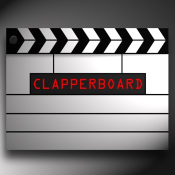 Clapperboard Film Slate
