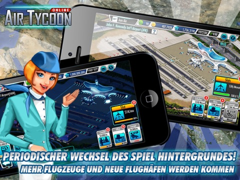 Screenshot #2 for AirTycoon Online.