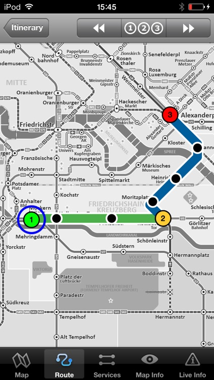 Berlin Metro - Map and route planner by Zuti