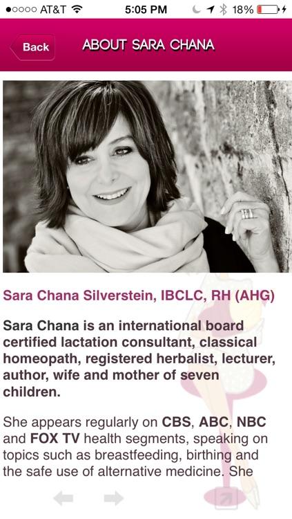 Sara Chana's Savvy Breastfeeding Guide screenshot-3