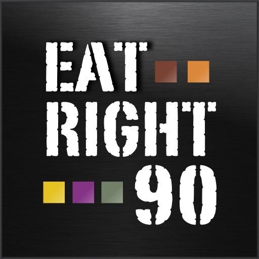 EatRight 90 - Nutrition log extreme fitness - Diet and exercise