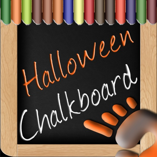 Chalkboard+ Halloween