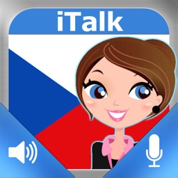 iTalk Czech: Conversation guide - Learn to speak a language with audio phrasebook, vocabulary expressions, grammar exercises and tests for english speakers HD