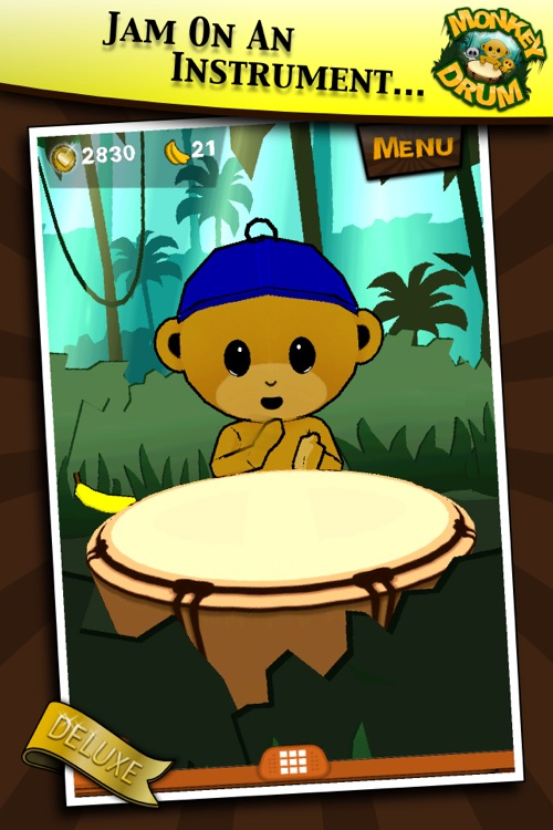 Monkey Drum Deluxe screenshot-3