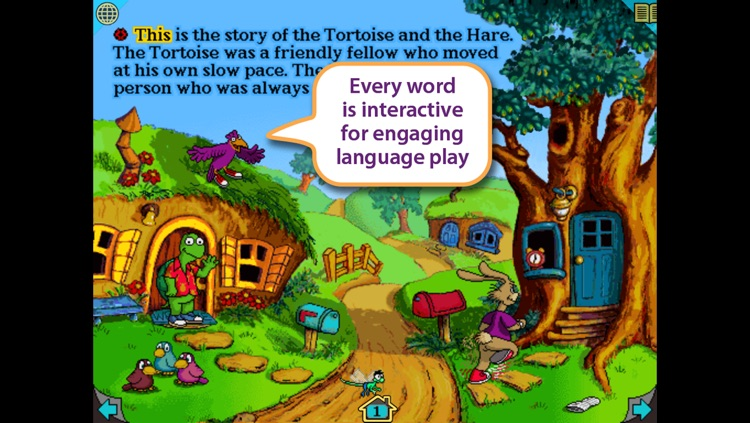 Tortoise and the Hare – Wanderful interactive storybook in UK English and French