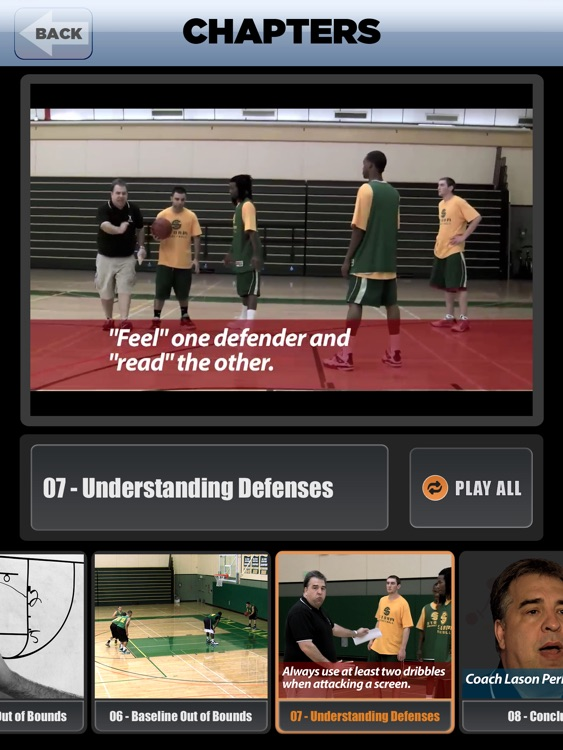 Great Pick & Roll Plays: Using Ball Screens For A Championship Offense - With Coach Lason Perkins - Full Court Basketball Training Instruction - XL screenshot-3