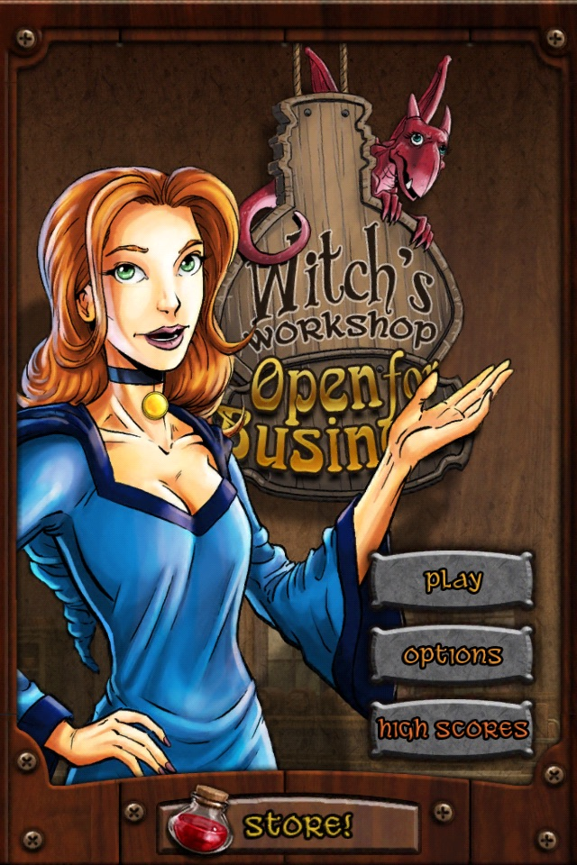 Witch's Workshop: Open For Business
