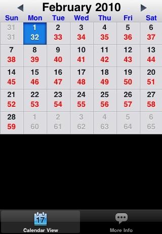 Julian Day Calendar screenshot-3