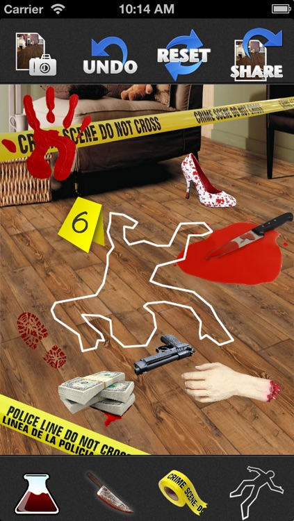 Crime Scene Maker: Lite screenshot-4
