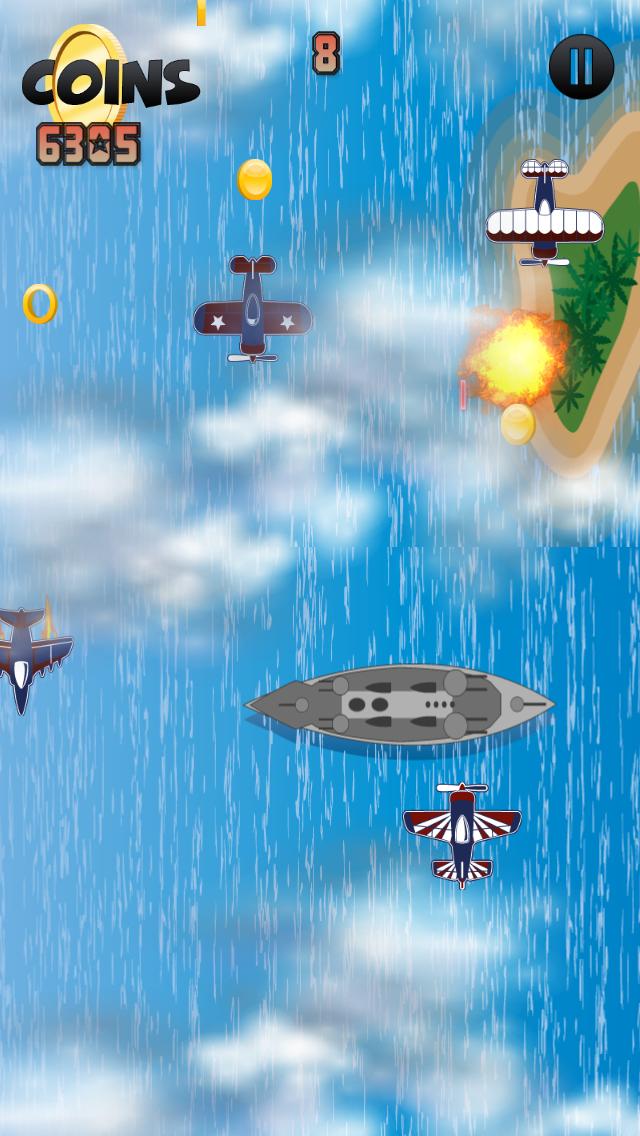 点击获取WW2 Carrier Fighter Games - Metal Baron Gunship Game Lite