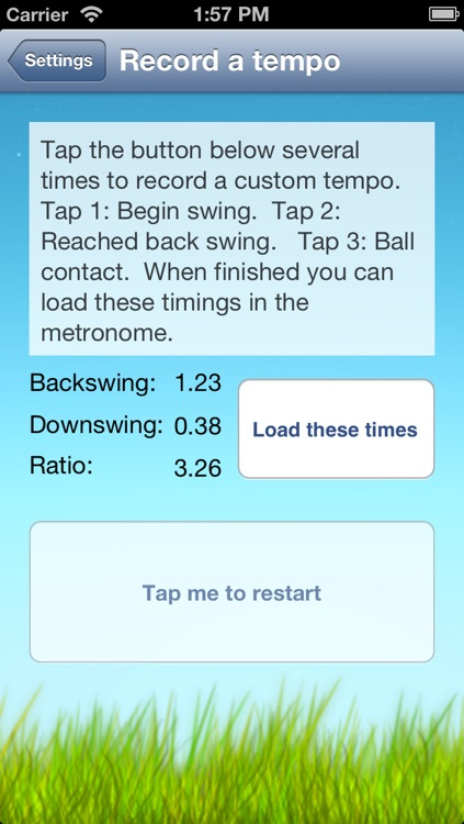 Swing Tempo Trainer: The Golf Metronome