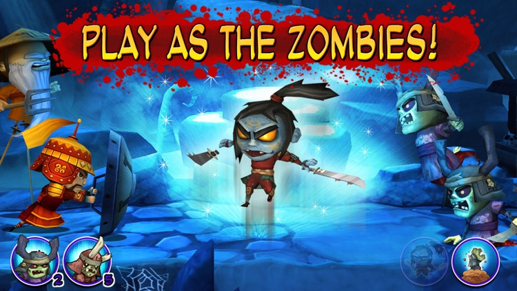 Samurai vs Zombies Defense screenshot-2