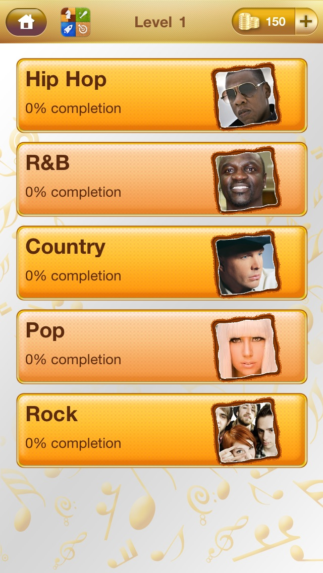 Who's the Artist: Guess Celeb Musician Screenshot on iOS