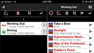 Playlist-Creator: The Ultimate Running, Driving, Workout, Dance, Party, and Relaxing Music Organizer! iPhone